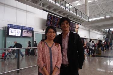 馬來西亞來港學風水攝於香港機場(2)