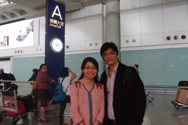馬來西亞來港學風水攝於香港機場(1)